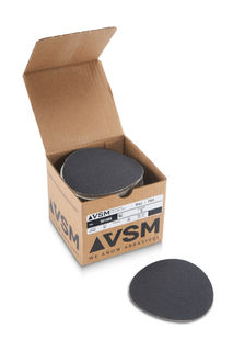 """VSM PSA Silicon Carbide Sandpaper 5"""" 60 Grit, Box 100 pieces"""
