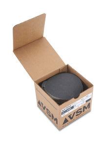 """VSM PSA Silicon Carbide Sandpaper 5"""" 80 Grit, Box 100 pieces"""