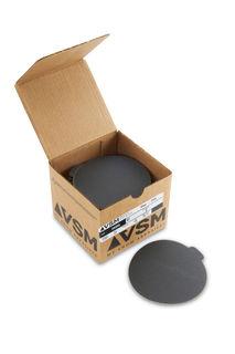 """VSM PSA Silicon Carbide Sandpaper 5"""" 120 Grit, Box 100 pieces"""