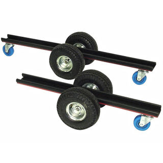 """Groves Stone Dolly SD-36 with 10"""" Tires and 4"""" Casters 36"""""""