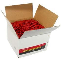 "SHIM-18B SHIMS 2"" X 1/8"" RED (1 BOX OF 1,000 PCS)"