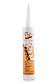 Pro Series Silicone Sealant Caulk White