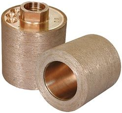 "Thread Sink Wheel Metal SW2x22-120 2"" x 2"", 120 Grit, 5/8-11"