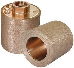 "Thread Sink Wheel Metal SW2x22-220 2"" x 2"", 220 Grit, 5/8-11"
