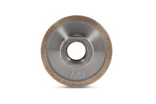 "Thread Sink Wheel Metal SW2x22-120 2"" x 2"", 120 Grit, 5/8-11"