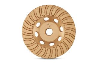 "Gold Series Turbo Cup Wheel 4"" Coarse"