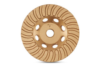 """Gold Series Turbo Cup Wheel 4"""" Fine"""