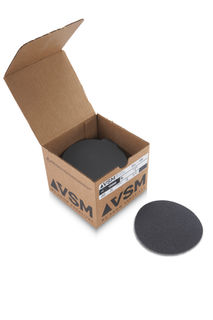 """VSM PSA Silicon Carbide Sandpaper 5"""" 220 Grit, Box 100 pieces"""