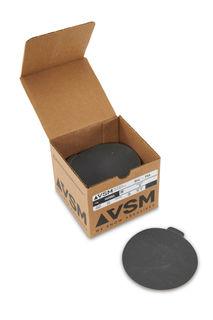 """VSM PSA Silicon Carbide Sandpaper 5"""" 320 Grit, Box 100 pieces"""