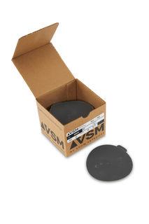 """VSM PSA Silicon Carbide Sandpaper 5"""" 400 Grit, Box 100 pieces"""