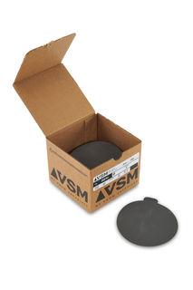 """VSM PSA Silicon Carbide Sandpaper 5"""" 600 Grit, Box 100 pieces"""