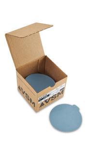 """VSM PSA Silicon Carbide Sandpaper 5"""" 1200 Grit, Box 100 pieces"""