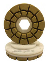 "5"" Tenax Flat Edge Polishing Wheels"