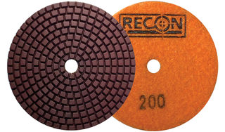 "Recon Copper/Hybrid Polishing Pad 4"" 400 Grit"