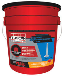 TUSCAN LEVELING STRAP, 5 GAL BUCKET OF 500