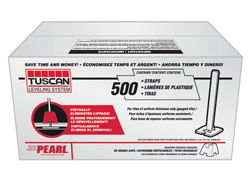 TUSCAN LEVELING WING STRAP BOX OF 500