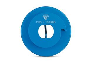 "Diarex Pro Series Shaping Wheel 4"" Position 1 Snail Lock"