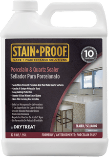 Stain-Proof Porcelain & Quartz Sealer, Quart