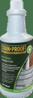 Stain-Proof Acidic Cleaner, Quart