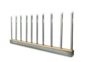 Aardwolf Slab Rack Kit, 2 Base Rails with 20 - 4' Posts