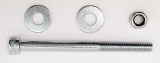 Aardwolf Lifter Hex Head M5x60 Bolt, Nut and Washer for Red Latch