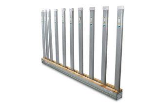 "Aardwolf Large Bundle Rack Kit 2-9 ft Base Rolls with 20- 5'3"" Posts"