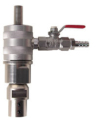 """WATER SWIVEL 1/2"""" MALE TO 1/2 GAS, 3/8"""" HOSE CONNECTION"""
