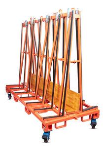 Abaco A-Frame Transport Rack 8' 2200 lb Capacity, 4 Casters