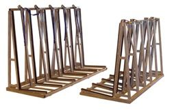"Groves TRSS-2496 Single Sided Rack, 96""L 24""W 63""H 4000 lb Capacity"