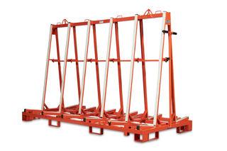 Diarex A-Frame Transport Rack II, 8ft without Wheels, No Wood Shelf