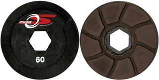 130mm Cyclone S Flat Auto Edge Wheels