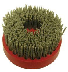 "Abrasivos Alicante Aging Brush Inox, 100mm Snail Lock 5/8""-11F"