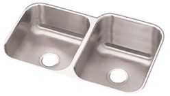Revere Stainless Steel Sink 18 Gauge 40/60 Square 8x10