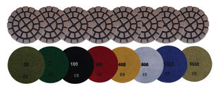 "3"" Superabrasive HD Resin Pads"