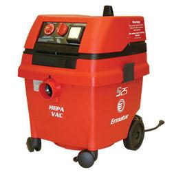 Ermator Wet / Dry HEPA Vacuum S25, 120V, 1.7HP, 129CFM, Wl100