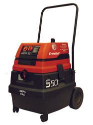 Ermator Wet / Dry HEPA Vacuum S50, 120V, 1.7HP, 129CFM, Wl100