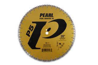 """PEARL P5 BLADE HARD MATERIAL N SEG 20"""" X 1"""" ARB"""