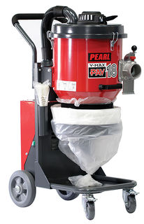 "Pearl PAV-18 V-Max Hepa Industrial Vacuum 176CFM 1-1/2"" Hose"