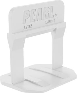 """Pearl Leveling System PLS500W Box of 500 White 1/32"""""""