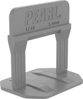 """Pearl Leveling System PLS500G Box of 500 Gray 1/16"""""""