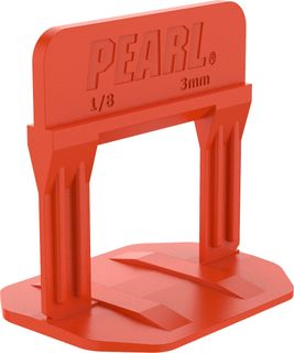 """Pearl Leveling System PLS250R Bag of 250 Red 1/8"""""""