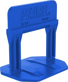 """Pearl Leveling System PLS2000B Box of 2000 Blue 3/16"""""""