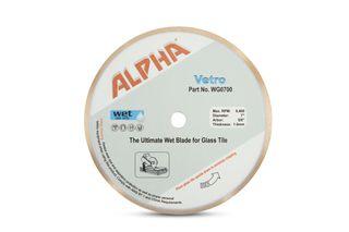 """Alpha Vetro Glass Blade 7"""""""