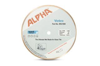 """Alpha Vetro Glass Blade 10"""", 5/8"""" Arbor"""
