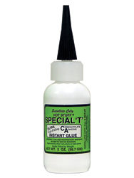 """SPECIAL """"T"""" GLUE (GREEN LABEL) CLEAR 2 OZ.THICK"""