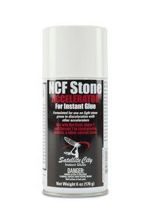 NCF Stone CA Glue Accelerator No Green Blossom Aerosol 6oz