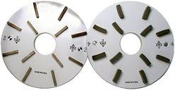 "Abrasive Technology SlabMaster Polishing Discs For Park Wizard 8"""