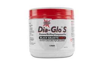 Abrasive Technology Dia-Glo S Buffing Compound Black Granite, 1 Pint Powder