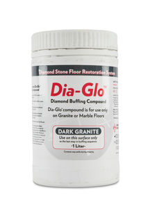 Dia-Glo D Buffing Compound Dark Granite, Quart