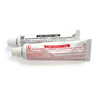 Bonstone Last Patch Gel  A&B 1oz Tubes for Chip and Fill
